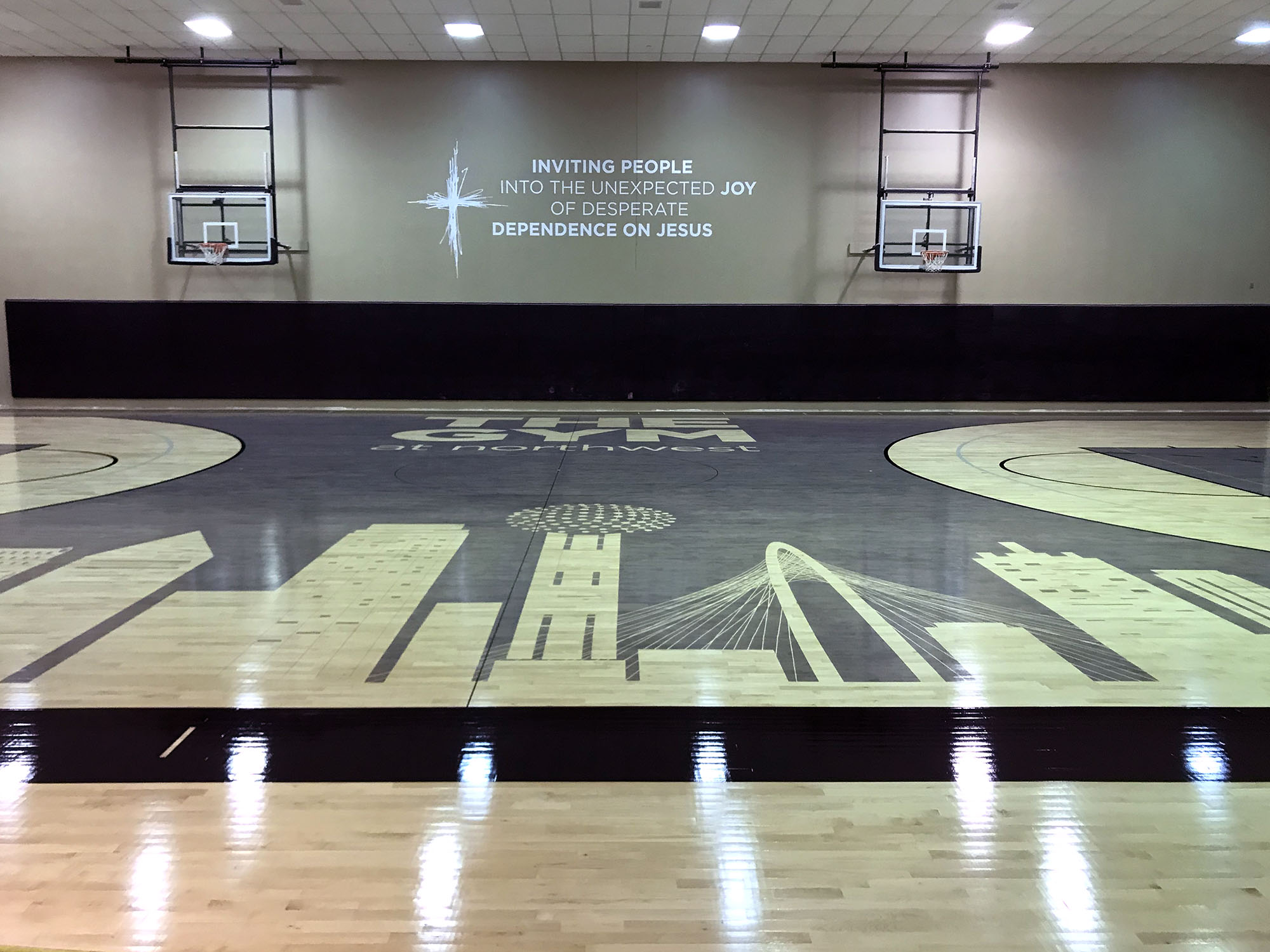 Northwest Bible Church Gym Renovation