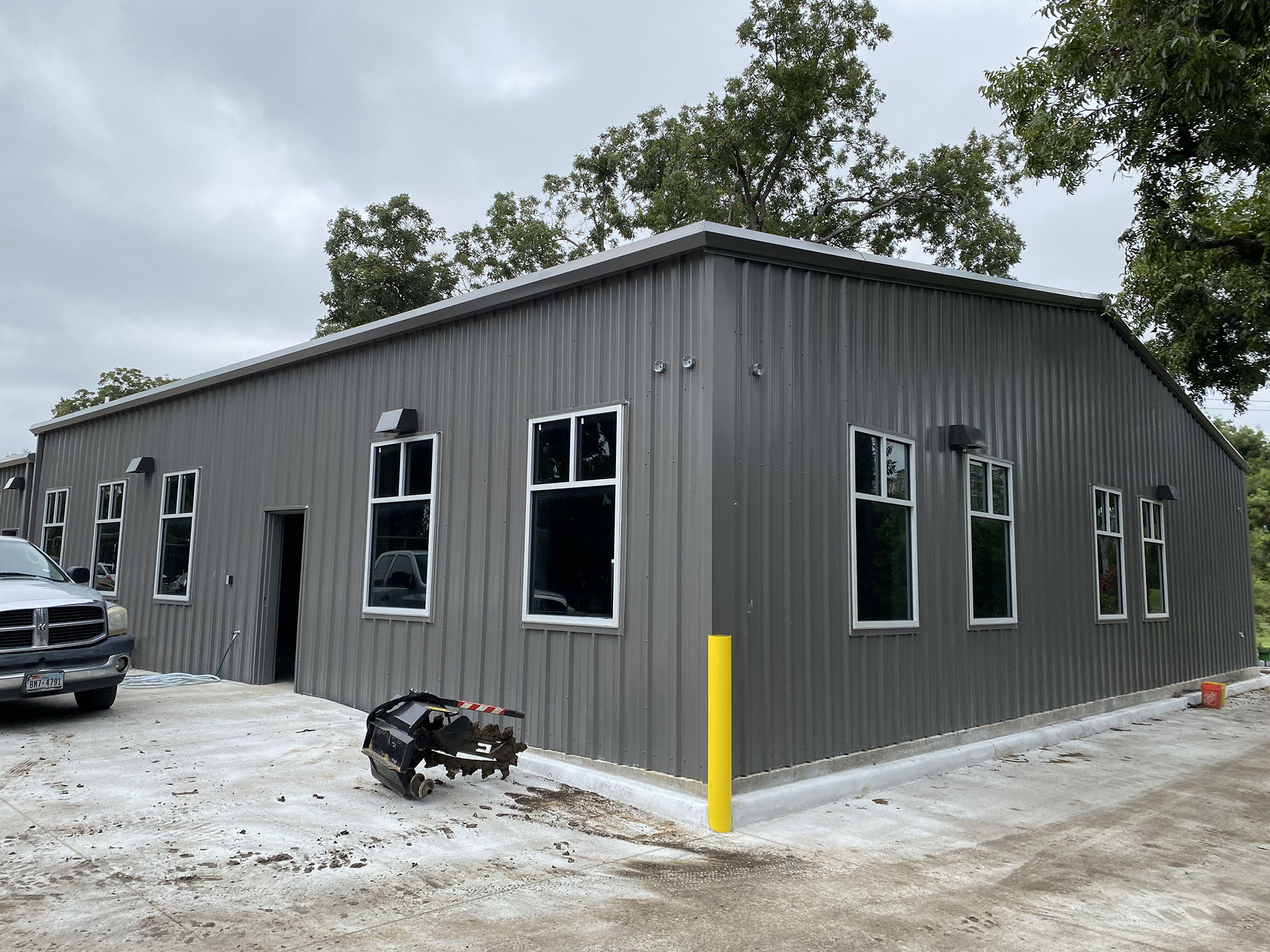 Royal Oaks Maintenance Facility Progress
