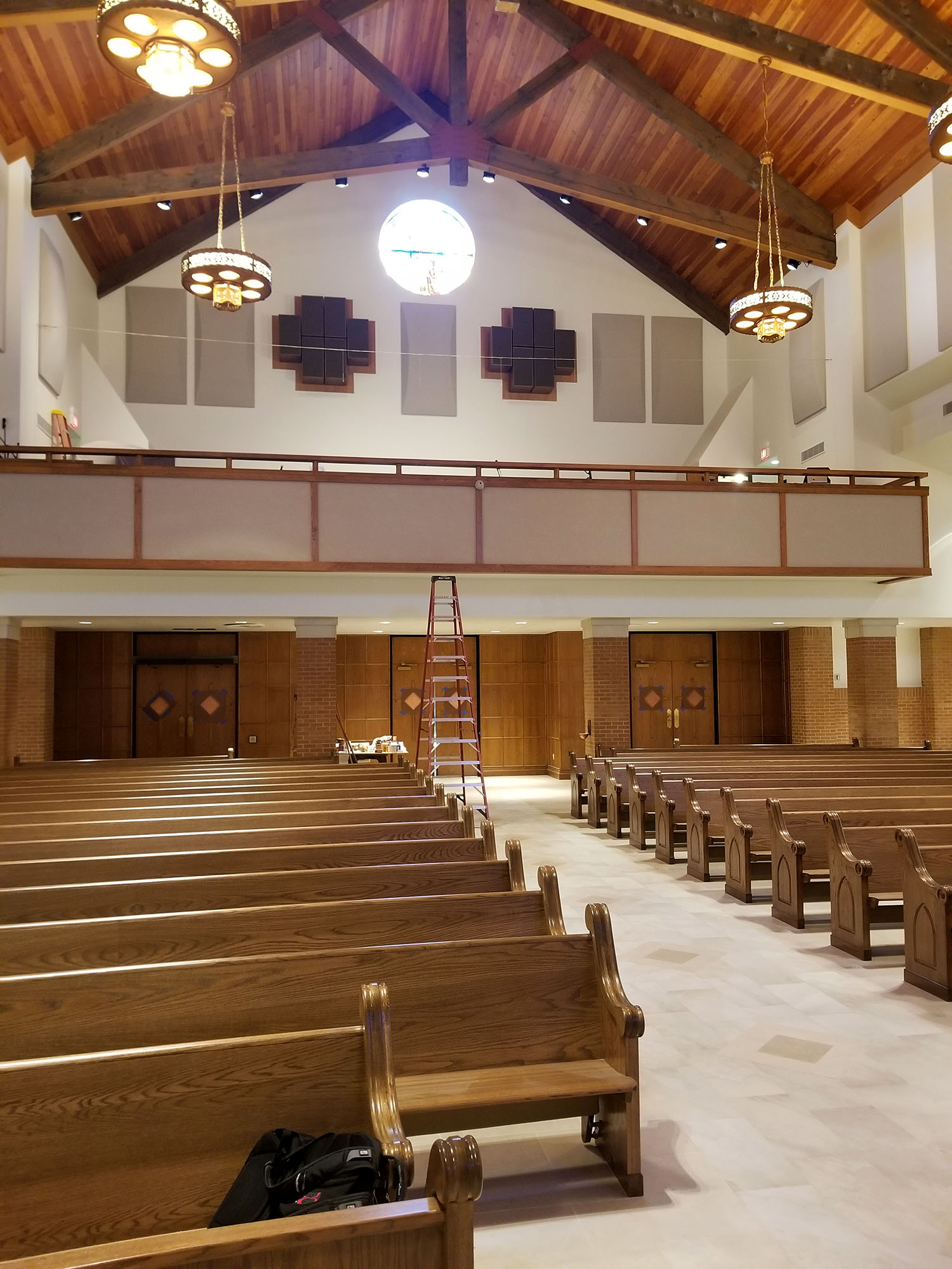 Saint Anthony Catholic Church Renovation Progress