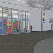 First Baptist Wylie 2017 Renovation - Concept Interior 3 D